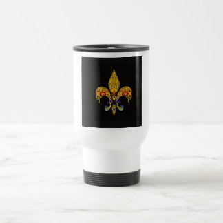customizable Fleur-de-Lis Mug