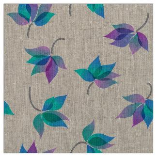Customizable Floral Hawaiian Happiness Fabric
