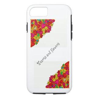 Customizable floral hearts iPhone 7/ tough case