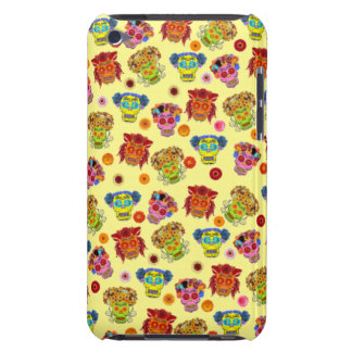 Customizable Floral Sugar Skulls Case-Mate iPod Touch Case