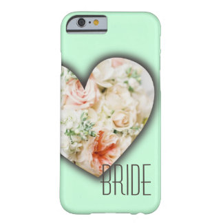 Customizable Flower Bouquet Heart Barely There iPhone 6 Case