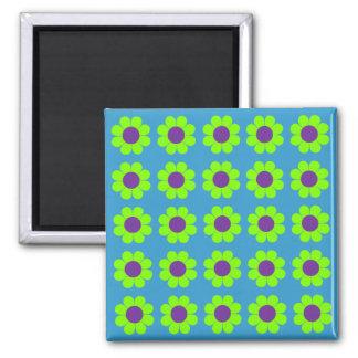 Customizable Flower Power Magnet
