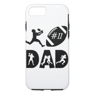 "Customizable ""Football Dad"" iPhone 7 CASE"