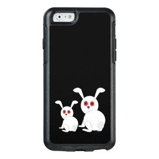 Customizable Freaked White bunnies with red eyes OtterBox iPhone 6/6s Case