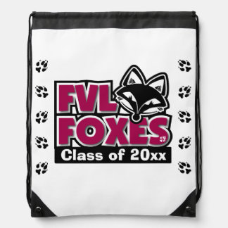 Customizable FVL Foxes Class of Drawstring Bag