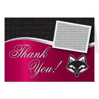 Customizable FVLHS Graduation Thank You Card