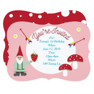 Customizable Garden Party Invitation