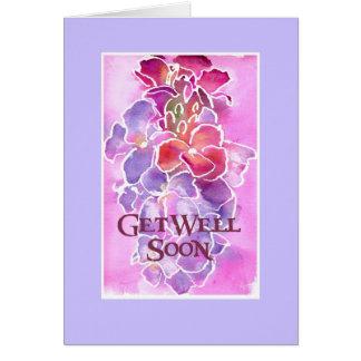 Customizable Get Well Card - Wallflowers