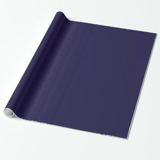 Customizable Gift Wrap (Navy Blue)