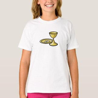Customizable, Girl Communion Body and Blood T-Shirt