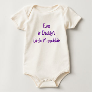 Customizable Girl - Little Girl Baby Bodysuit