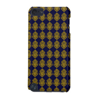 Customizable Gold India Block Print iPod Touch (5th Generation) Cover