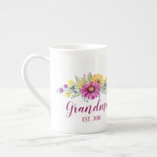 CUSTOMIZABLE Grandma, Mamaw, Grams, etc... Tea Cup