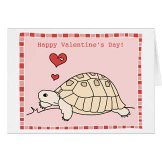 Customizable Greek Tortoise Card