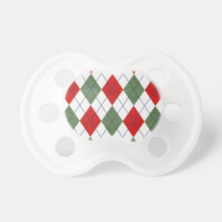Customizable Green and Red Argyle Dummy