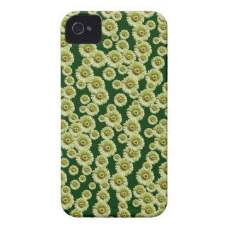 Customizable Green Gerber Daisies iPhone 4 Case-Mate Cases