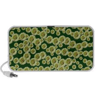 Customizable Green Gerber Daisies Mp3 Speaker