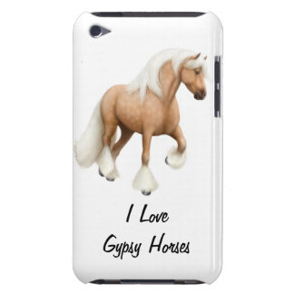 Customizable Gypsy Horse iPod Touch Barely There C Barely There iPod Cases
