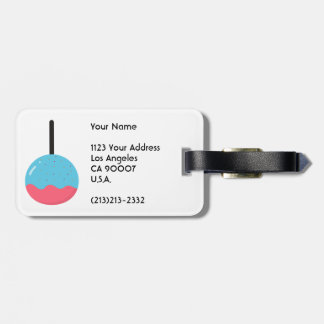Customizable Halloween - Candy Candy Candy Luggage Tag