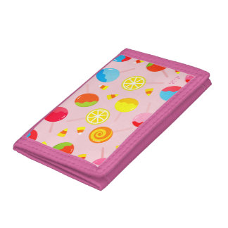 Customizable Halloween - Candy Candy Candy Tri-fold Wallet
