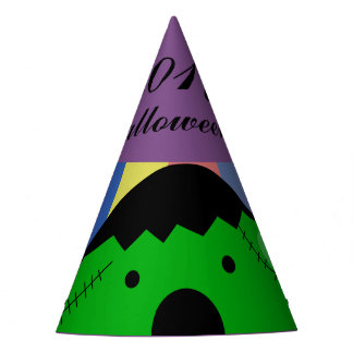 Customizable Halloween - Cute Mochi Friends Party Hat