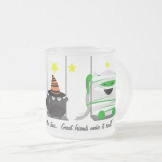 Customizable Halloween - Dreamy Halloween Frosted Glass Coffee Mug