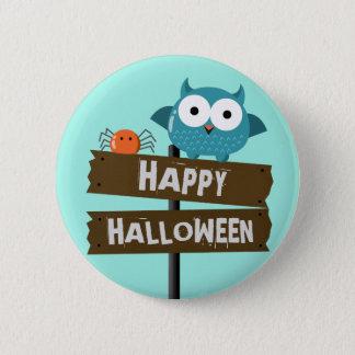 Customizable Halloween - Mochi Haunted House 6 Cm Round Badge