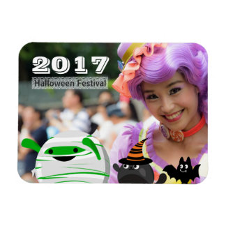 Customizable Halloween - Mochi Mummy Leader Magnet