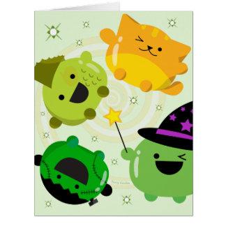 Customizable Halloween - Mochi Witch Hocus Pocus Card