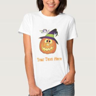 Customizable Halloween Pumpkin Tshirts