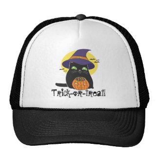 Customizable Halloween Witch Kitty Hats