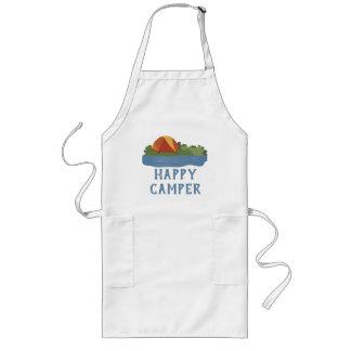 Customizable Happy Camper Long Apron