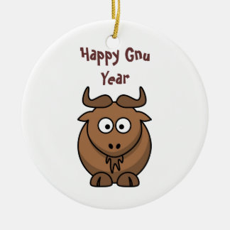 Customizable Happy New Year Ornament