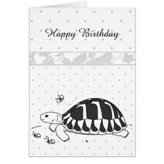 Customizable Hermann's Tortoise Card