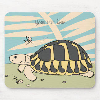 Customizable Hermann's Tortoise Mouse Pad