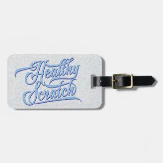Customizable Hockey Healthy Scratch Luggage Tag
