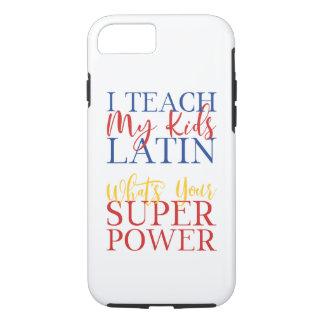 CUSTOMIZABLE Homeschool Latin Superhero iPhone 8/7 Case
