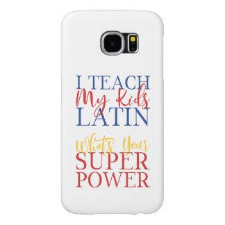 CUSTOMIZABLE Homeschool Latin Superhero Samsung Galaxy S6 Cases