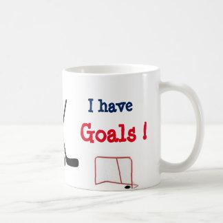 Customizable I Have Goals Mug