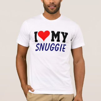 Customizable I Heart My Snuggie Tee