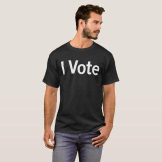 Customizable I VOTE Men's Dark T-shirt. T-Shirt