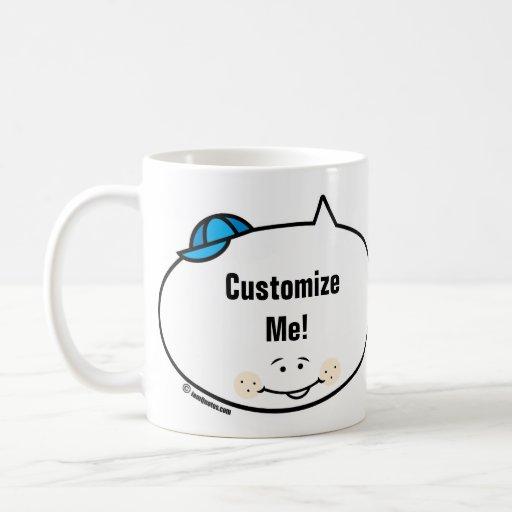 Customizable iamQuotes Boy Mugs