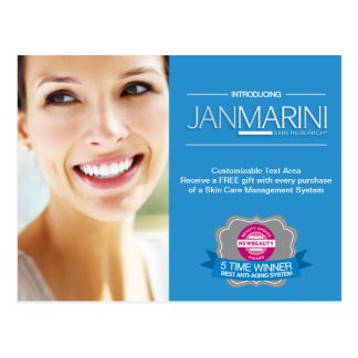 "Customizable ""Introducing JMSR"" Postcard"