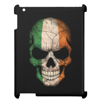 Customizable Irish Flag Skull Cover For The iPad 2 3 4