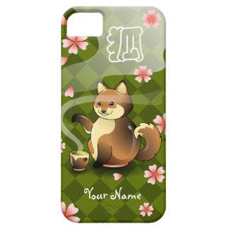 Customizable Kistune Fox Kanji Teapot Tea case iPhone 5 Covers
