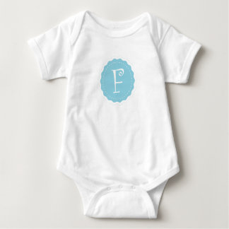 """Customizable Letter """"F"""" Baby Bodysuit"""