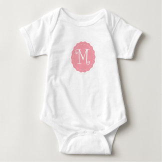 """Customizable Letter """"M"""" Baby Bodysuit"""