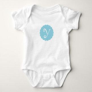 """Customizable Letter """"Y"""" Baby Bodysuit"""