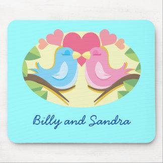 Customizable Love Birds Mousepad