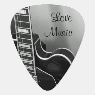 Customizable Love Music Guitar Pick
